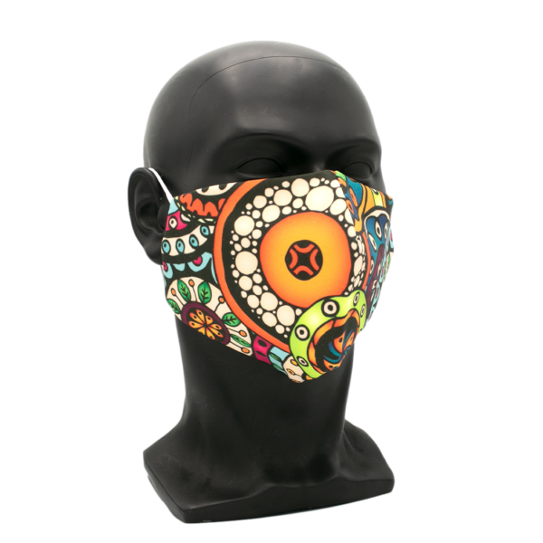schöne muster maske